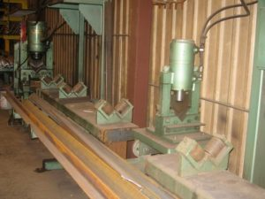 Jameson Steel Peddinghaus Angle Line Equipment for custom steel fabrication