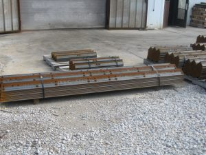 PeddingHaus Angle Line for mass production of clip angles, miscellaneous bracing and flat bar by Jameson Steel