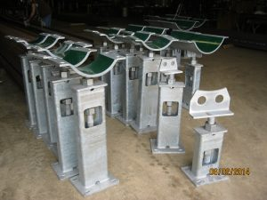 Adjustable Steel Pipe Stands by Jameson Steel
