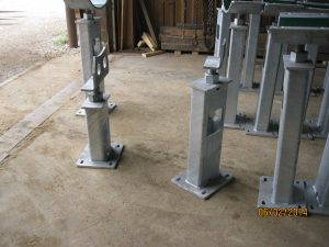 Heartland Pipe Support Systems from Jameson Steel - flange supports