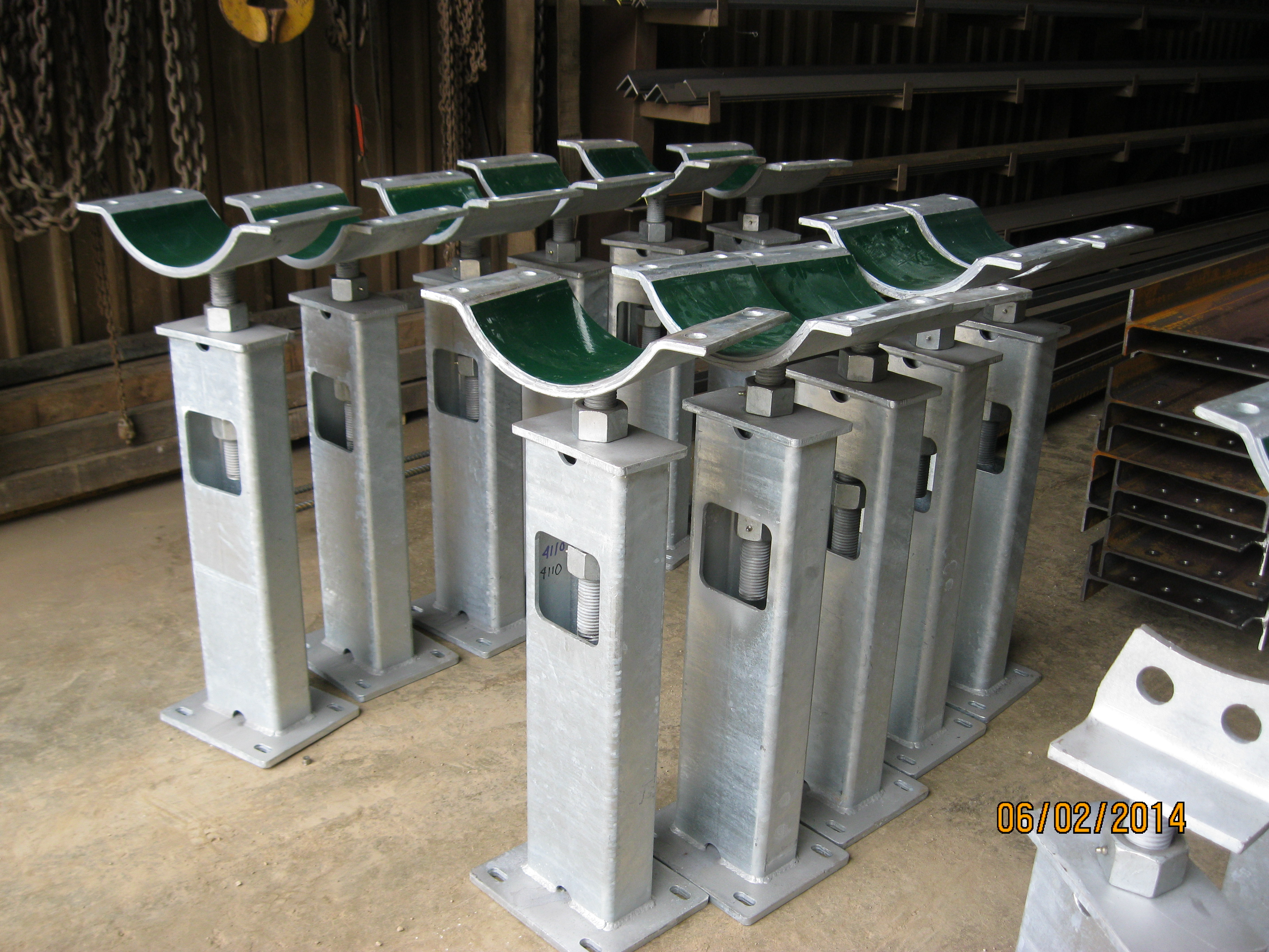 Heartland Pipe Support Systems Jameson Steel Fabrication