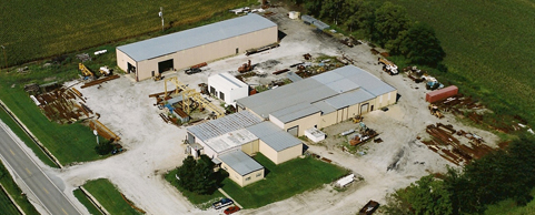 Jameson Steel Fabrication Aerial View